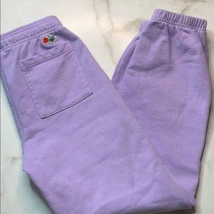 Melody Ehsani M.E. Rose Sweatpants Lavender